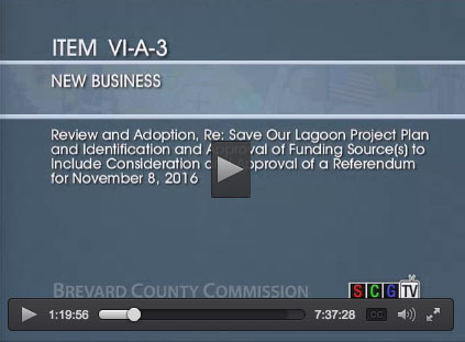 Save Our Lagoon Project Plan video presentation